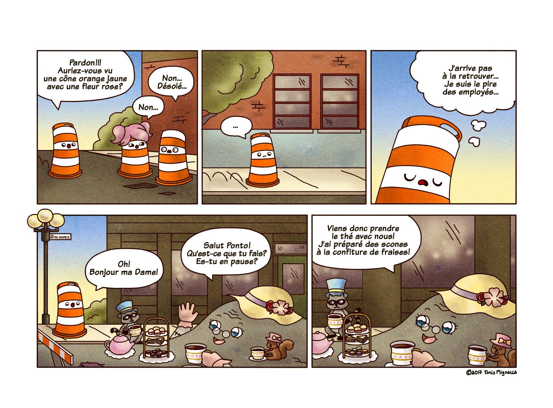 L'heure du thé (Page 246)